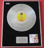 MADONNA - Who's That Girl PLATINUM LP presentation Disc